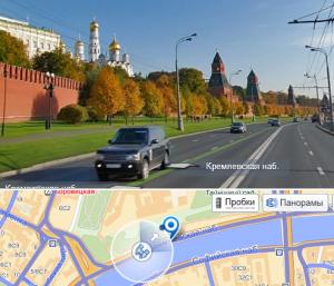 Панорамы улиц Москвы