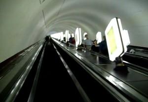 Эскалатор московского метро