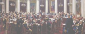 И. Е. Репин. Торжественное заседание Государственного совета